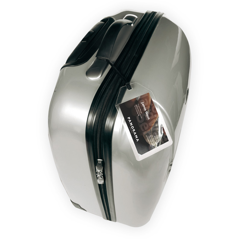 Self-Laminating Luggage Tags - Includes String For Attaching